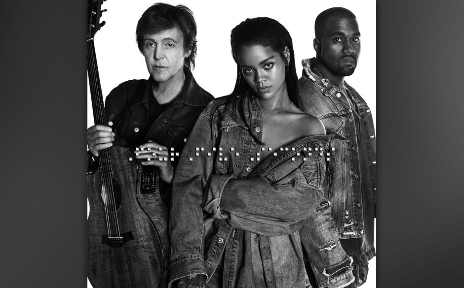 "36. Rihanna, Kanye West and Paul McCartney: ""FourFiveSeconds"""