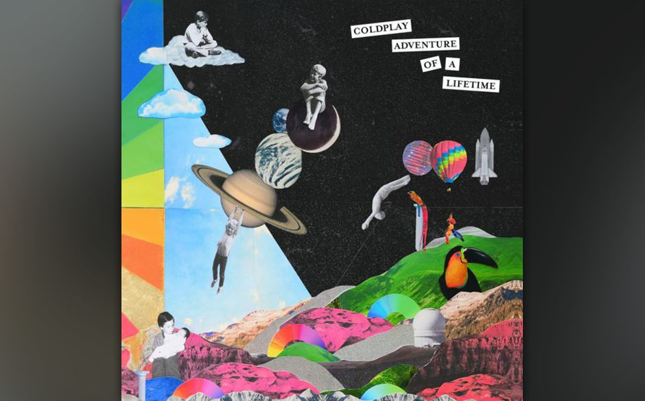 """41. Coldplay: """"Adventure of a Lifetime"""""""