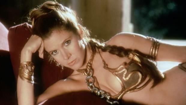 """Welches modische Detail wohl für Carrie in """"Das ERwachen der Macht"""" vorgesehen ist?"""