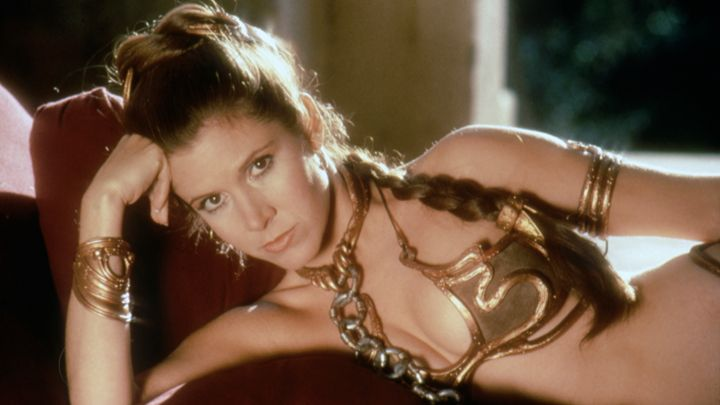 Welches modische Detail wohl für Carrie in 'Das ERwachen der Macht' vorgesehen ist?