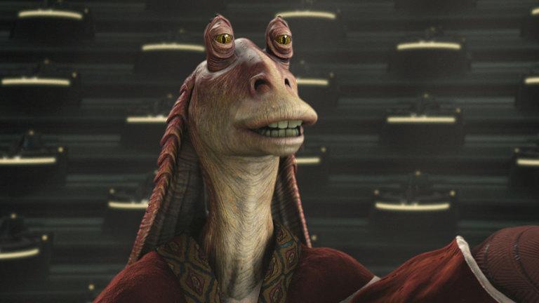 """Fans werden von Jar Jar Binks in """"Star Wars: Episode VII - Das Erwachen der Macht"""" verschont bleiben."""