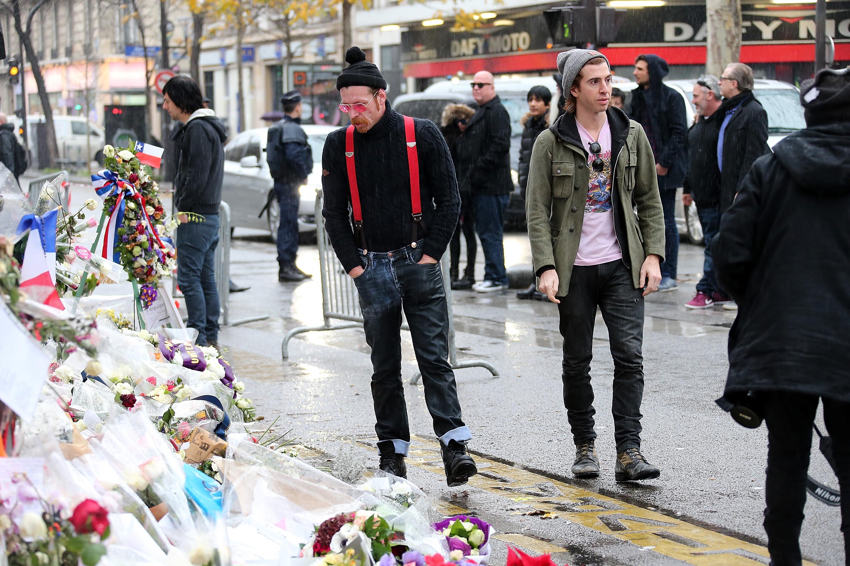 <> on December 8, 2015 in Paris, France.