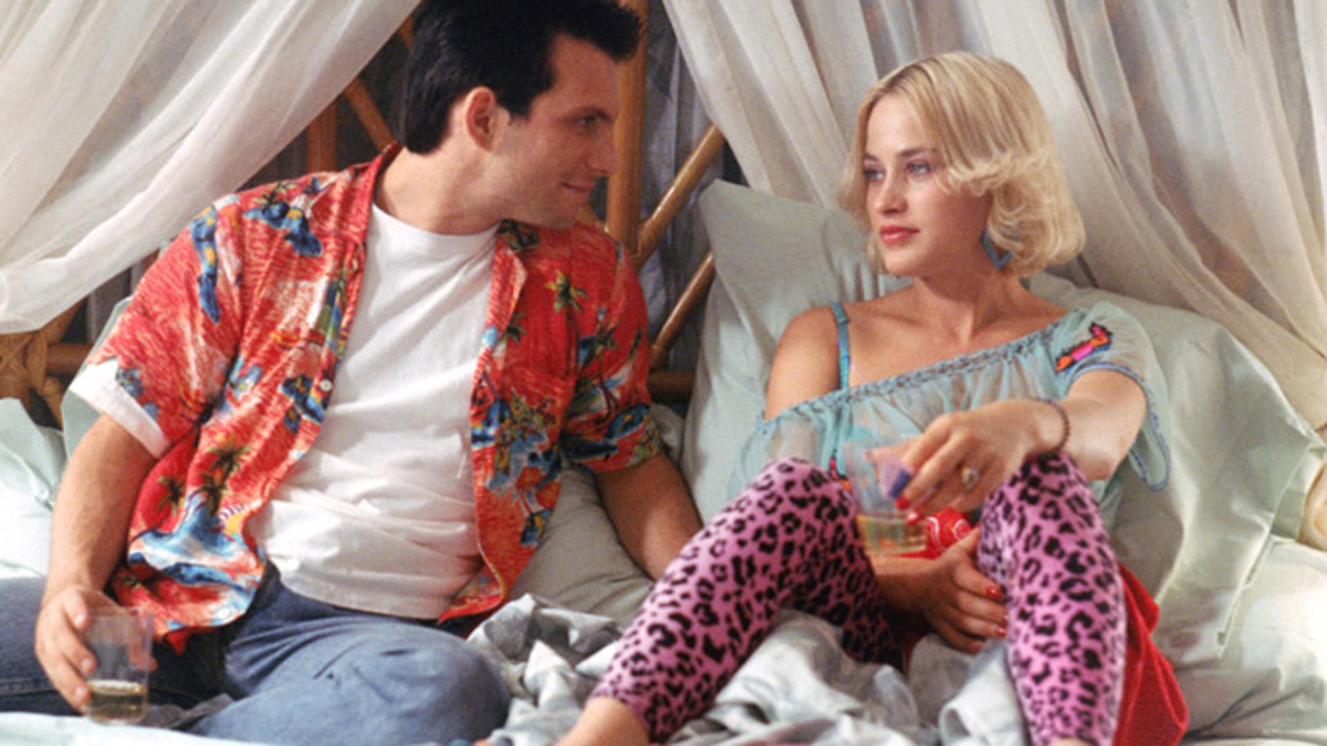 Patricia Arquette und Christian Slater in 'True Romance' (1993)