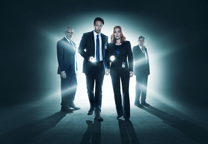 Walter Skinner, Fox Mulder, Dana Scully und der Kettenraucher: Sie alle kehren wieder.