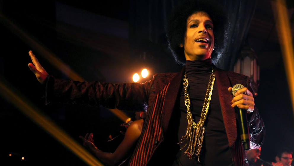 Prince live in Los Angeles, 2014