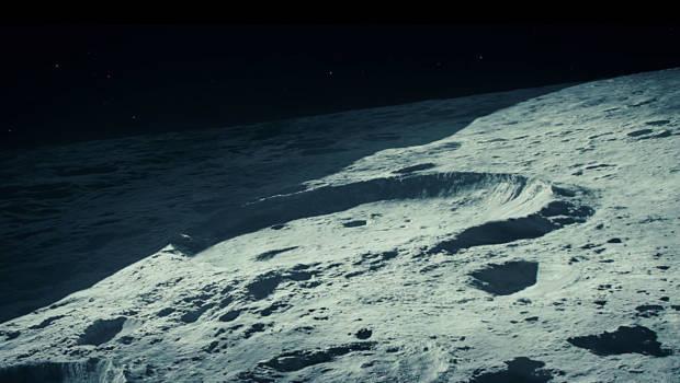 Erneut wird der Mond von Außerirdischen verdunkelt.