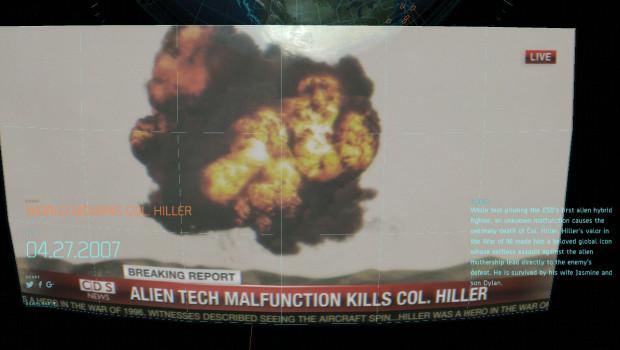 """Die virale Website """"War of 1996"""" berichtet vom Tod von Steven Hiller."""