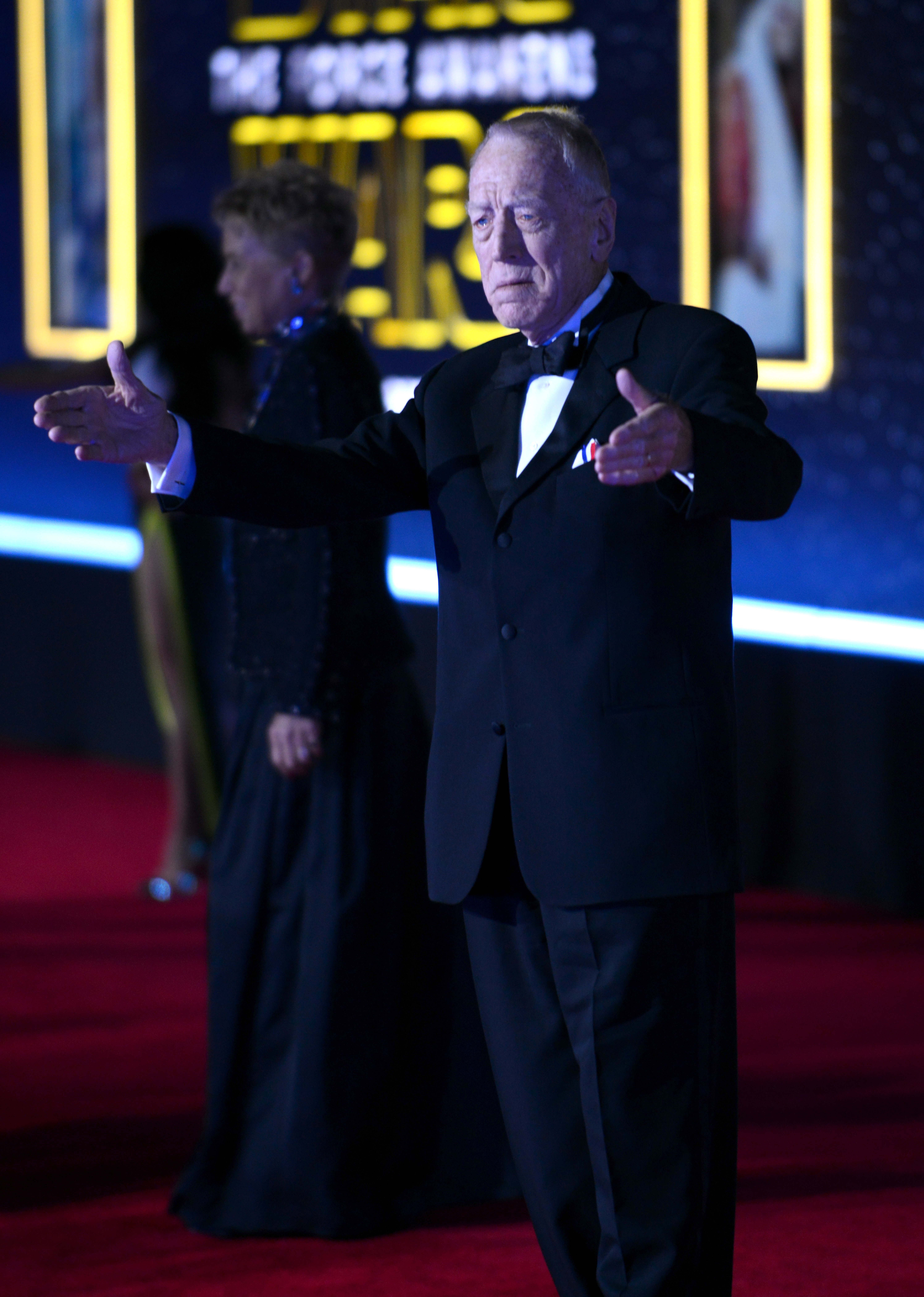 arrives for the Premiere Of Walt Disney Pictures And Lucasfilm's 'Star Wars: The Force Awakens'  held on December 14, 2015 in