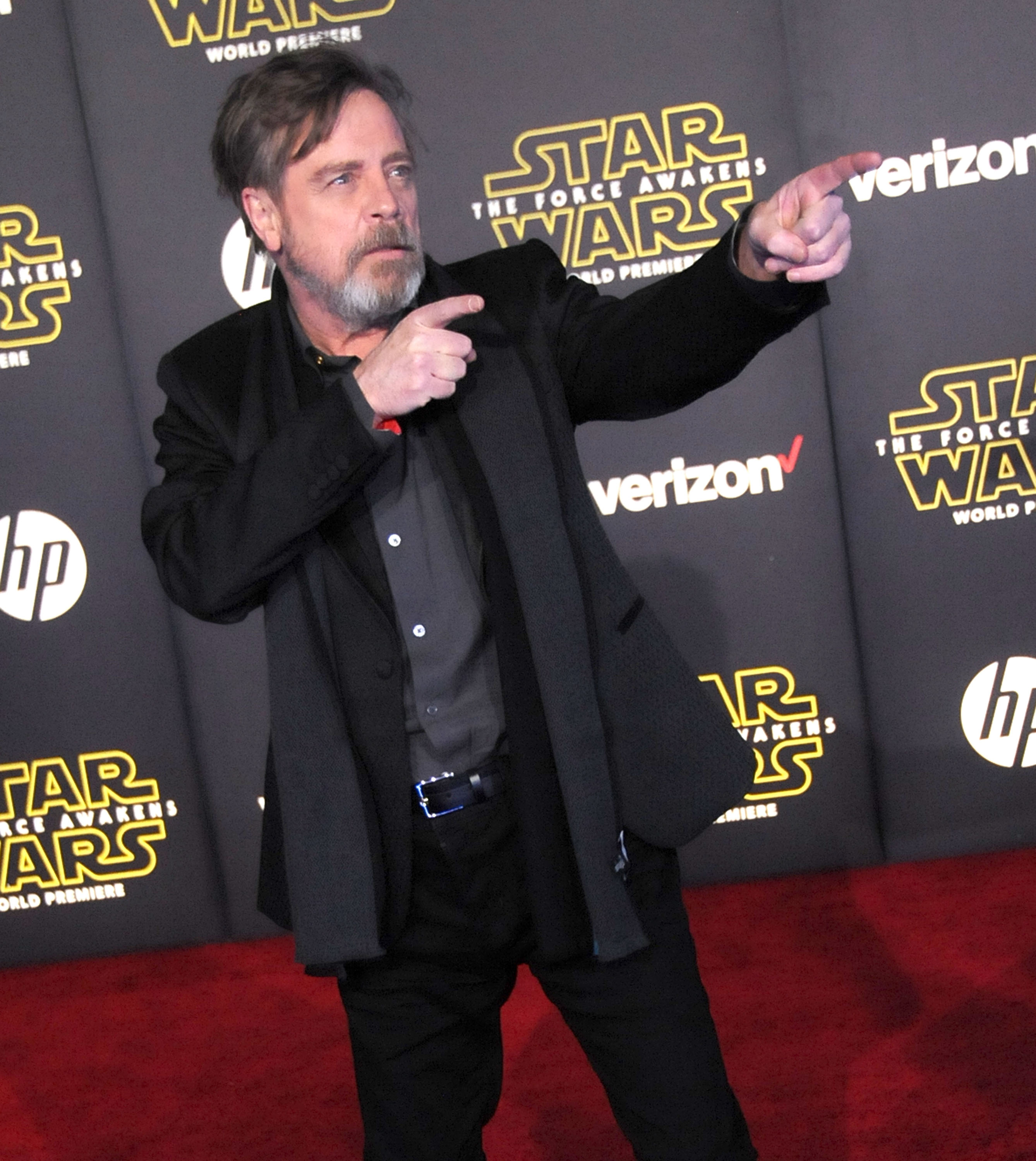 attends the Premiere of Walt Disney Pictures and Lucasfilm's 'Star Wars: The Force Awakens' on December 14, 2015 in Hollywood