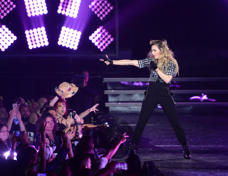 Madonna live in Montreal, September 2015