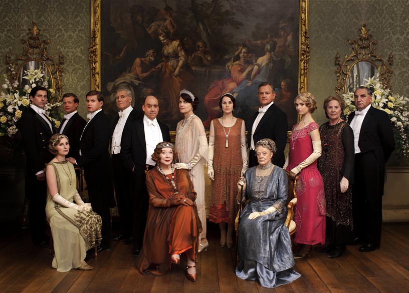 """Elegantestes Ensemble der Welt: Adel und Personal von """"Downton Abbey"""" blicken dem Ende entgegen"""