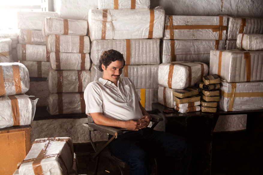 "Menschliches Monster: Wagner Moura in ""Narcos"""