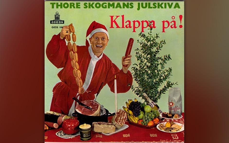 """Thore Skogmans Julskiva – """"Klappa på"""""""