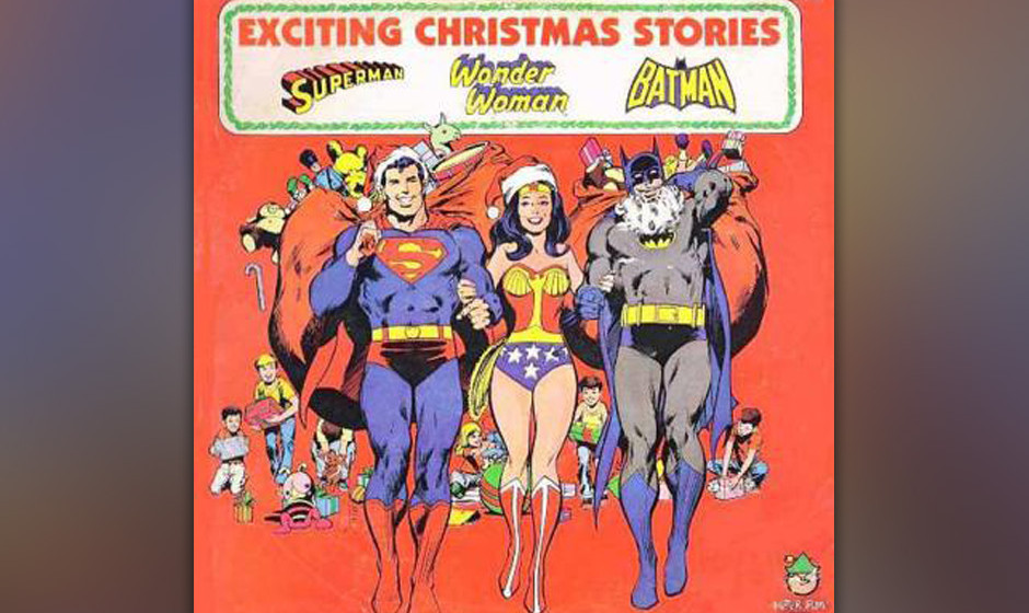 "Superman / Wonder Woman / Batman – ""Exciting Christmas Stories"""
