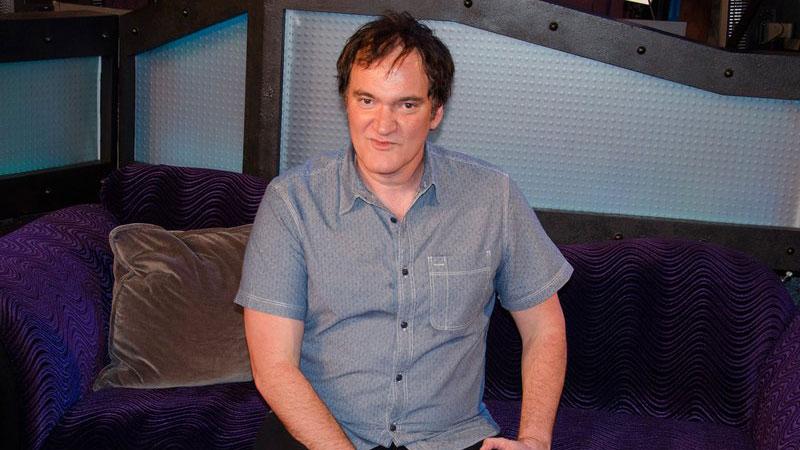 "Quentin Tarantino zu Gast in ""The Howard Stern Show""."