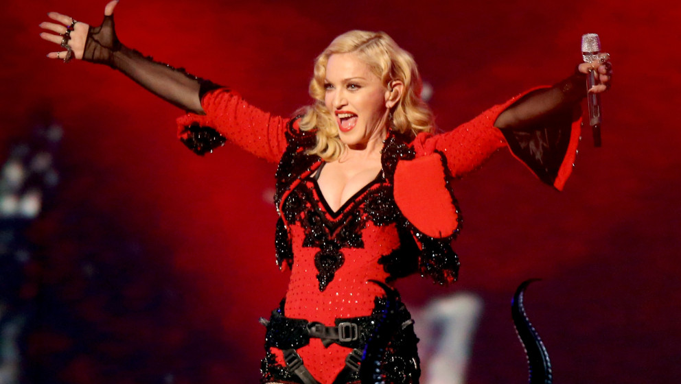 "Madonna live bei den ""Grammy Awards"", 2015, Los Angeles"