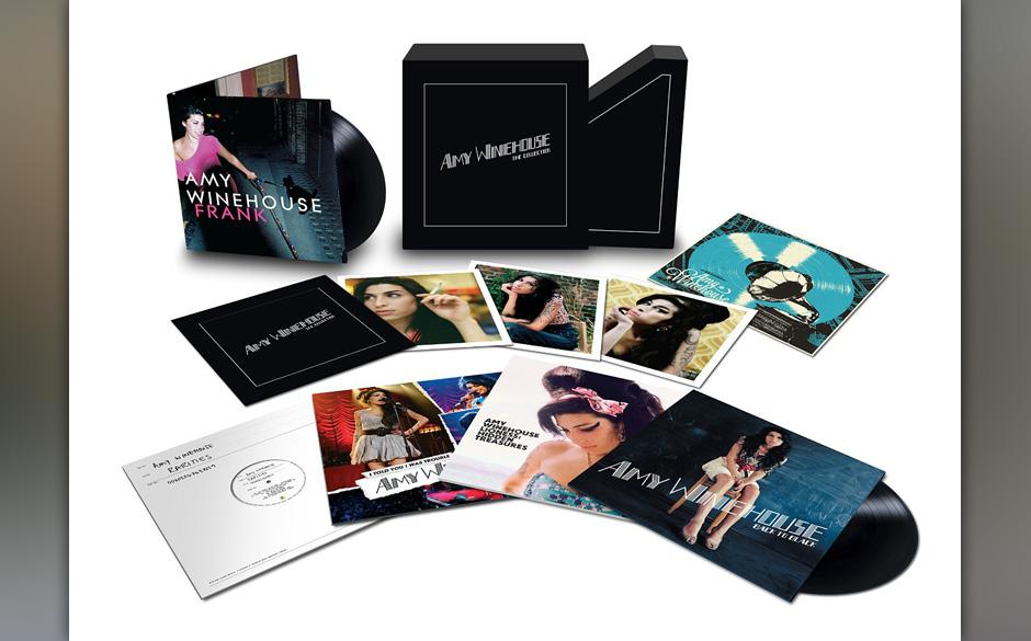 """Schönes Kompendium: Amy Winehouse –""""The Collection"""" mit acht Vinyl-LPs und damit allem, was man von der """"Back to Black""""-Sängerin besitzen kann"""
