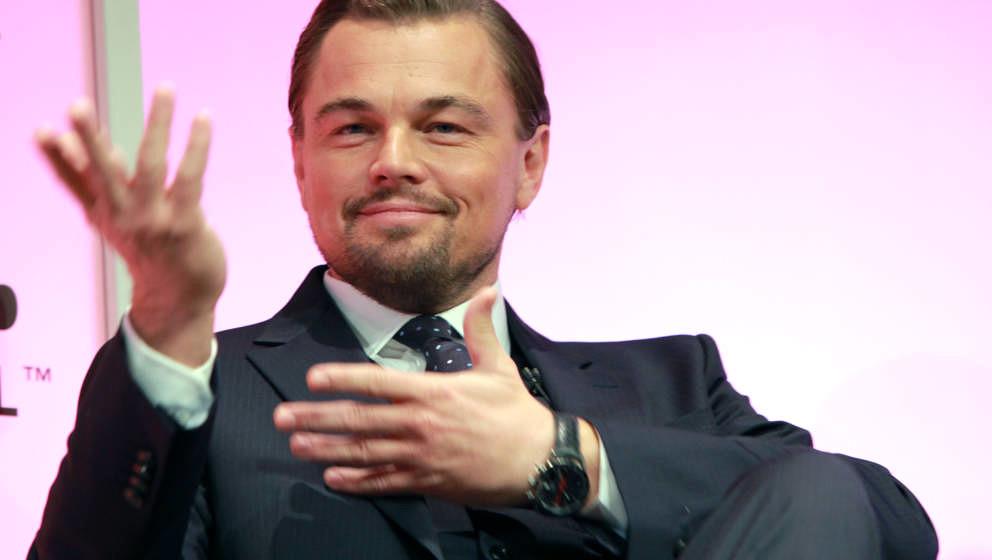 Leonardo DiCaprio, 2014 in Santa Barbara