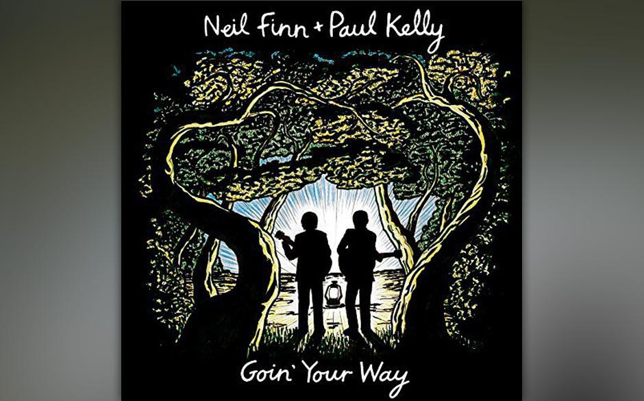 """Neil Finn und Paul Kelly veröffentlichen ebenfalls am Freitag ihr Live-Album """"Goin' Your Way"""" als Doppel-CD-Version"""