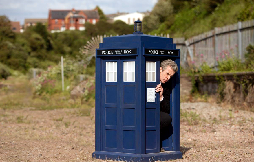 "Zeitreisender: Peter Capaldi in ""Dr. Who"""