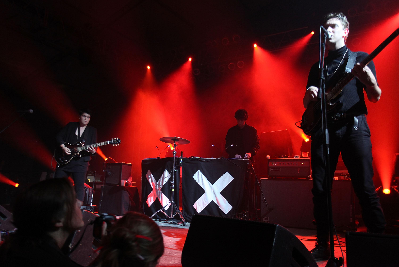 The xx live, 2010