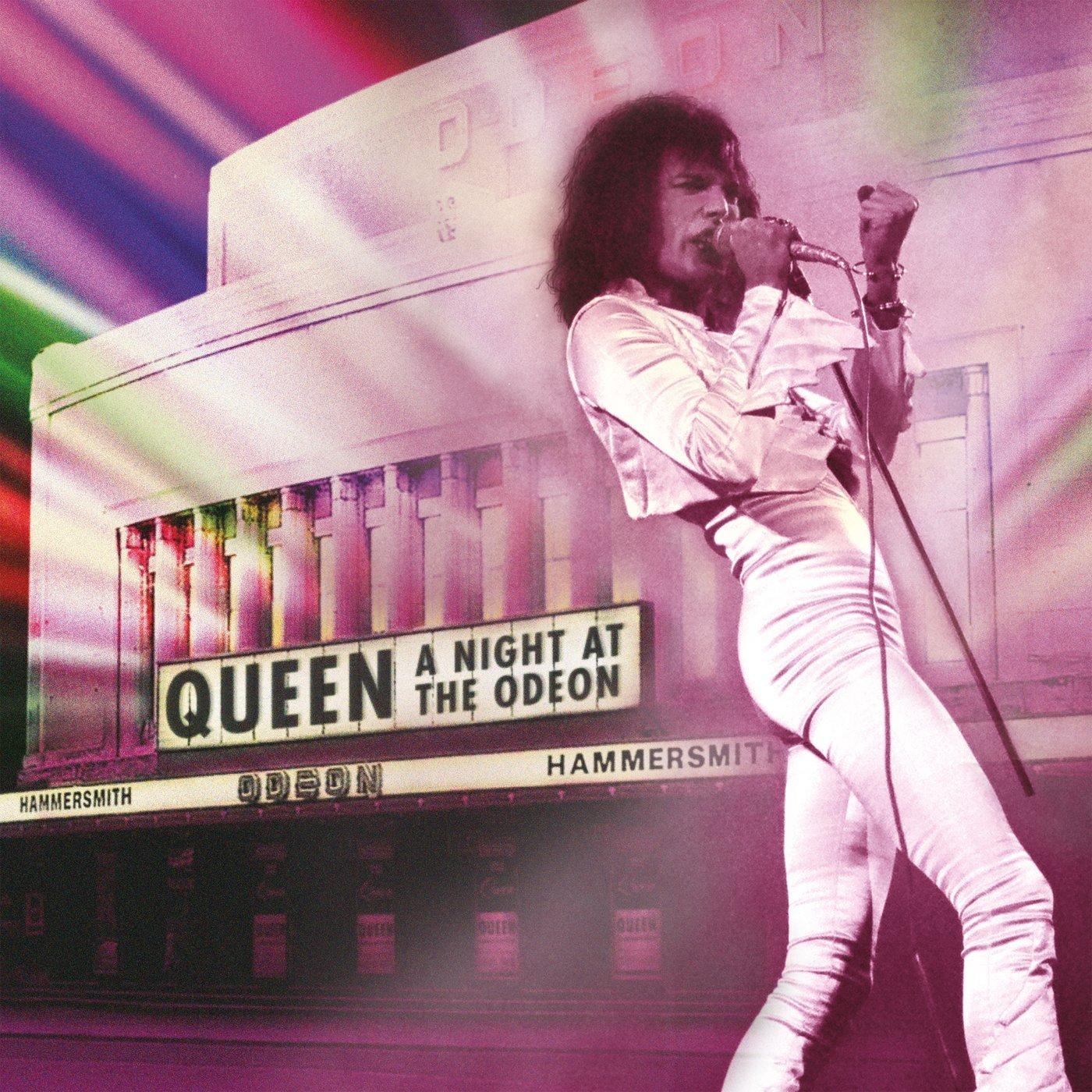 """Queen –""""Live at the Odeon"""" auf CD und Blu-ray/ DVD"""