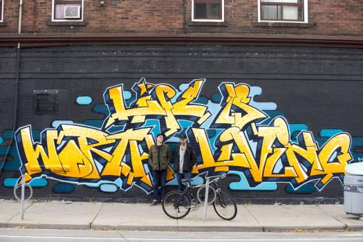 Bieber-Graffitis