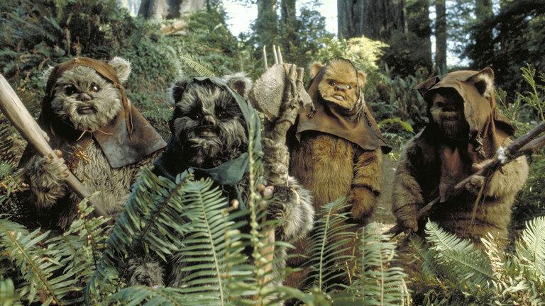 """Alle tot: Die Ewoks aus """"Star Wars"""""""