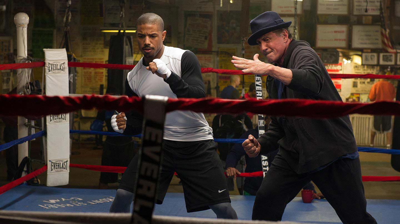 Rocky Balboa trainiert Adonis Johnson