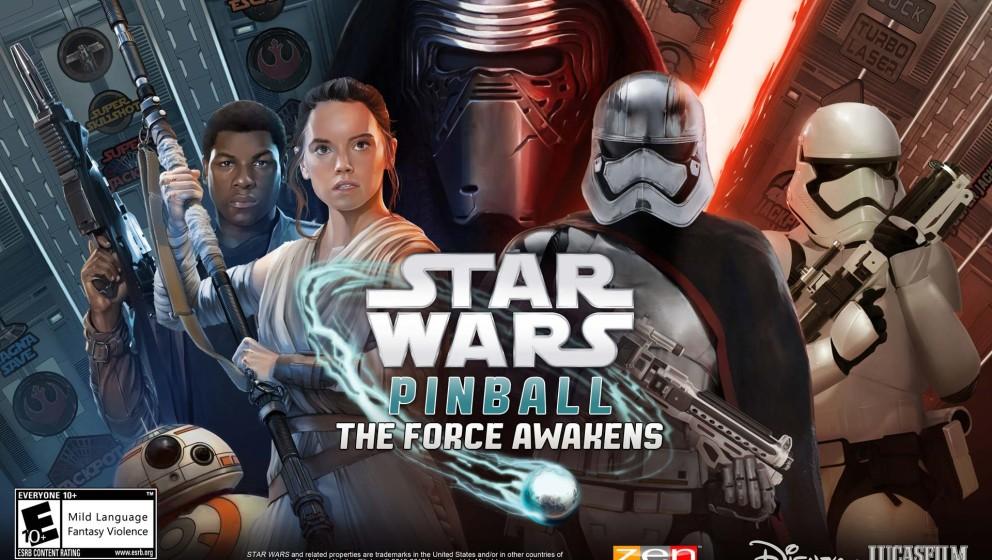 """Bald kann man """"Star Wars: Das Erwachen der Macht"""" am digitalen Flipper nachspielen."""