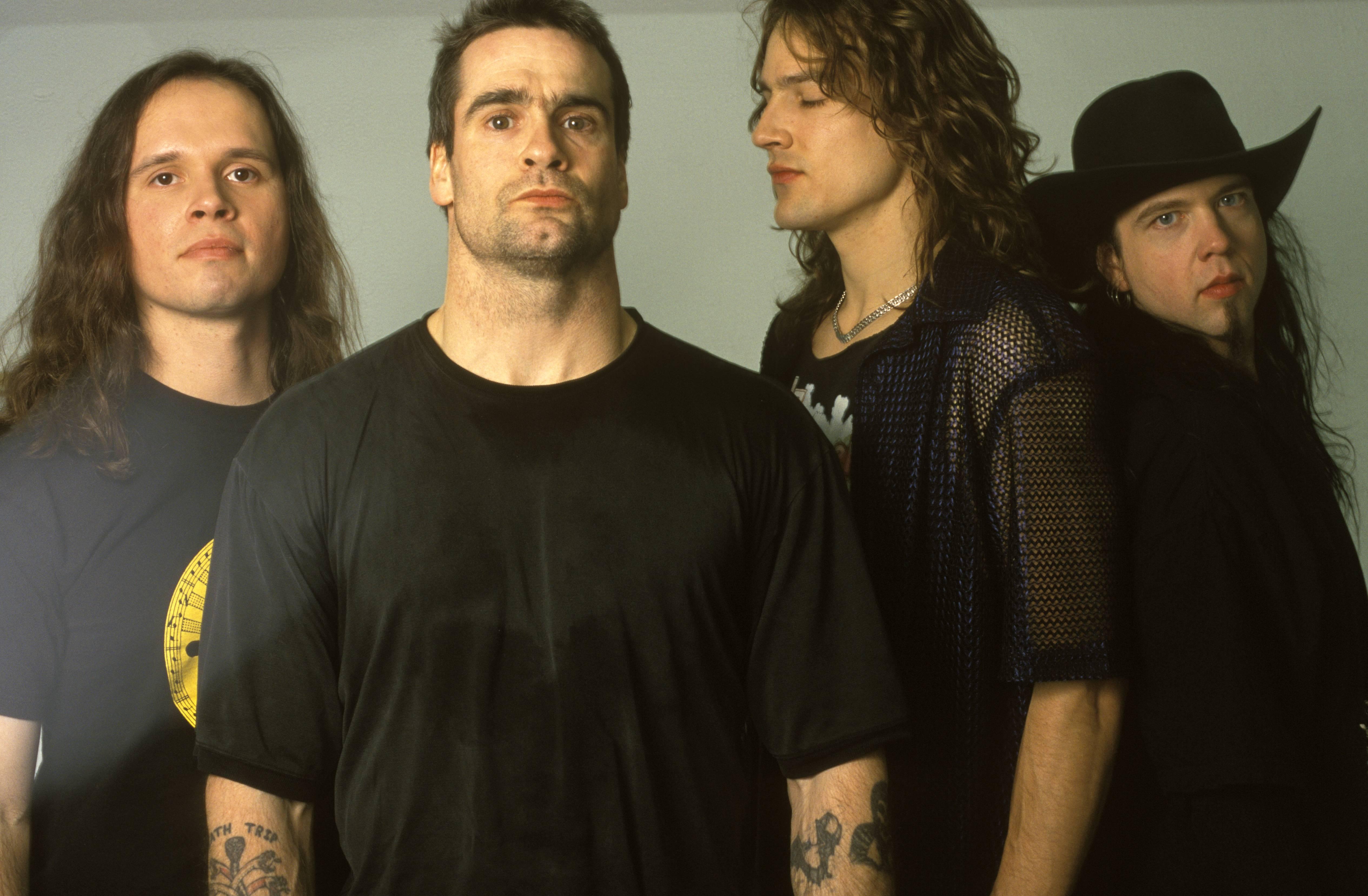 Rollins Band mit Jason Mackenroth (2. v. r.)