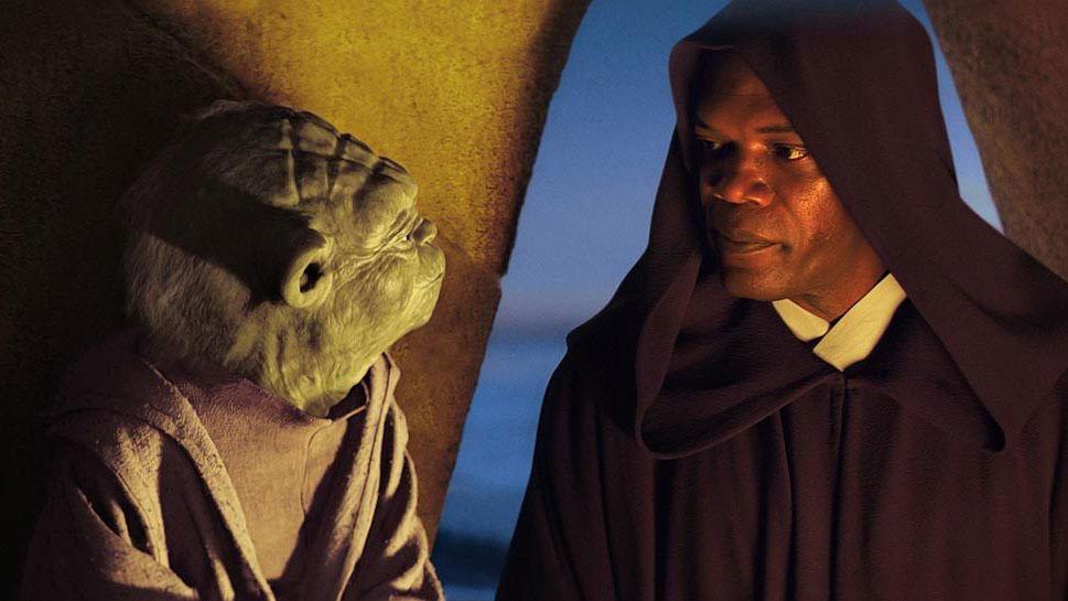"""Samuel L. Jackson hat Mace Windu in den Episoden I bis III von """"Star Wars"""" gespielt"""