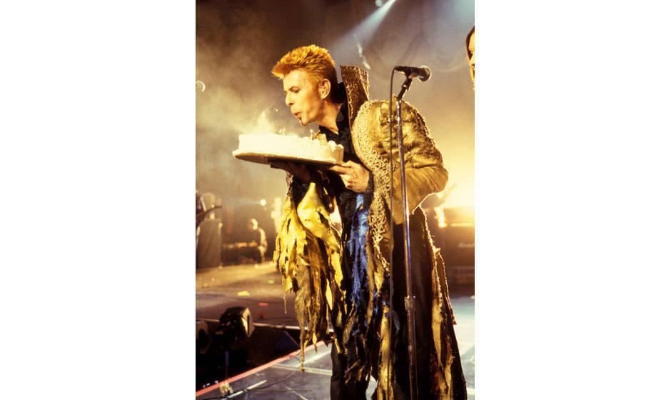 David Bowie feiert 50. Geburtstag