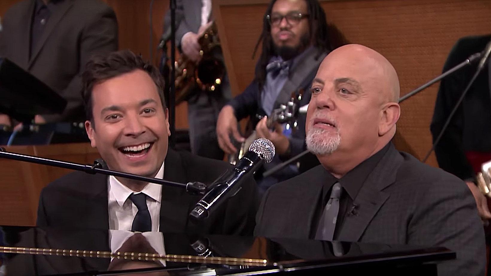 Jimmy Fallon und Billy Joel