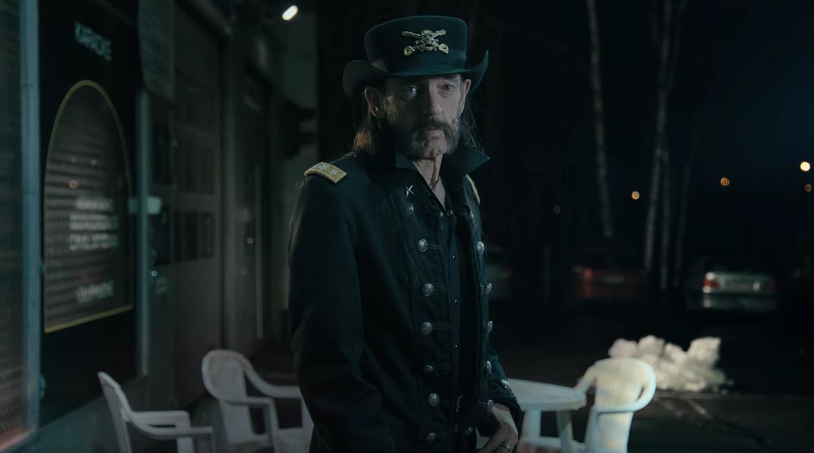 Lemmy Kilmister tritt postum in einem Werbeclip auf
