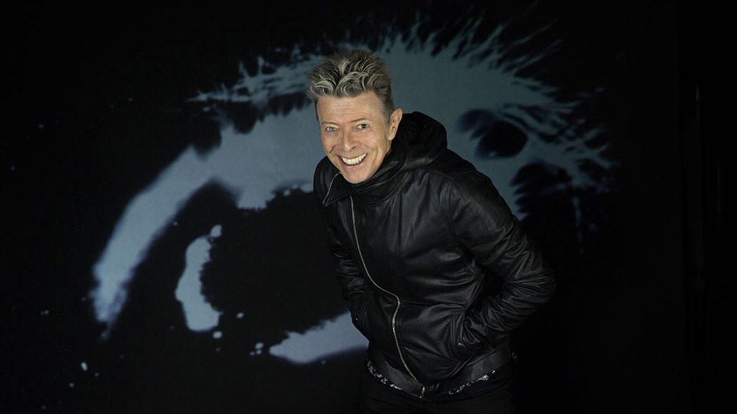 David Bowie auf einem der letzten Fotos, das vor seinem Tod gemacht wurde.