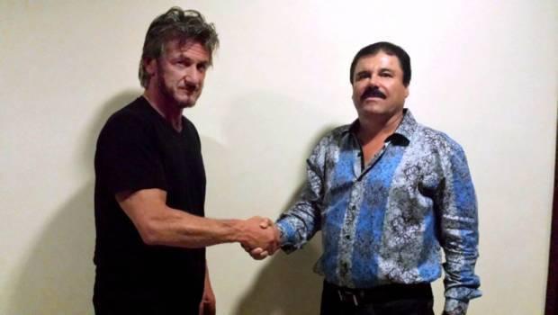 Sean Penn (li.) und El Chapo am 2. Oktober 2015. Das Foto beweisen, dass das Treffen stattfand.
