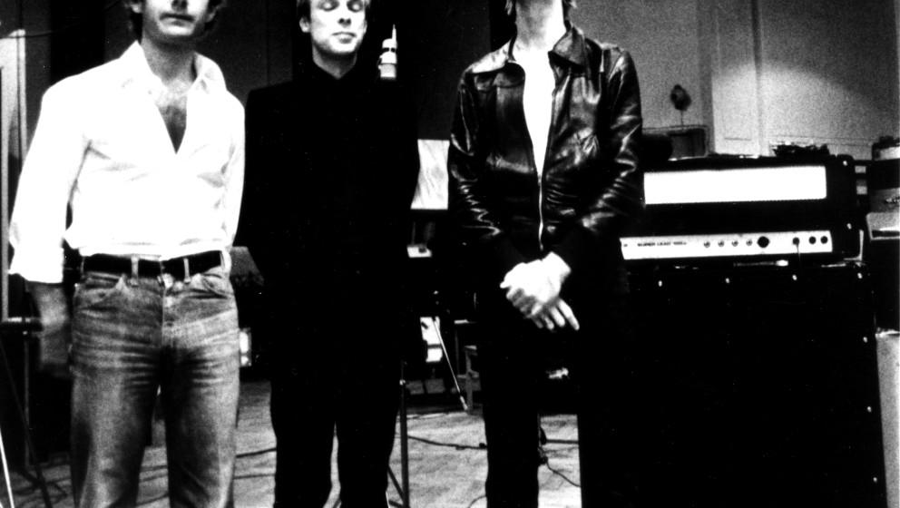 Mit Fripp und Eno in den Hansa-Studios, Berlin, 1977