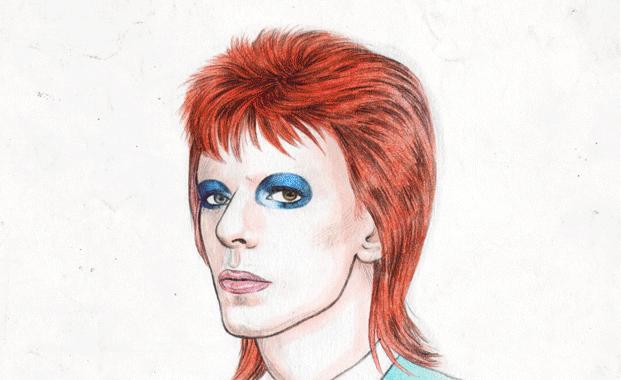 David Bowie lebt in Sheffield als Graffiti weiter