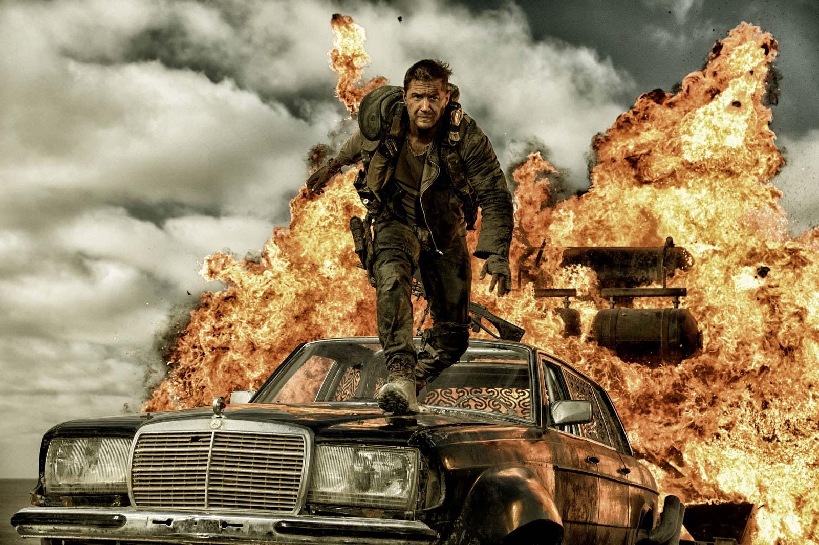Tom Hardy ging zwar leer aus - 'Mad Max: Fury Road' triumphierte aber trotzdem bei den Oscars