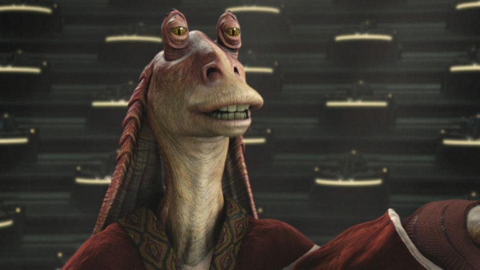 """Niemand mag Jar Jar Binks, am wenigsten jedoch die """"Star Wars""""-Fans."""