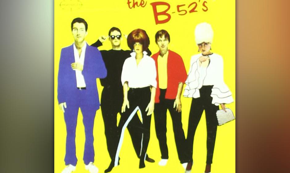 """The B52's –""""The B52's"""" – """"Ich erinnere mich daran, wie sich the B52's bei 'Saturday Night Live' gesehen habe"""