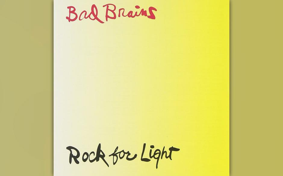 """Bad Brains: """"Rock For Light"""" – """"Das ist vielleicht meine liebste Platte aller Zeiten. Es war das erste Mal, dass ich"""