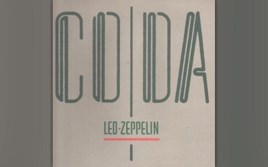 """Led Zeppelin – """"Coda"""" – """"Led Zeppelin haben meinen Drumstil komplett beeinflusst. Man kann dieser Band nichts abspr"""