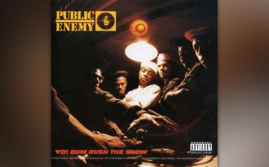 """Public Enemy: """"Yo! Bum Rush The Show"""" – """"Eine komplette Revolution im Hip-Hop. Das Zusammenspiel von Flavor Flav und"""