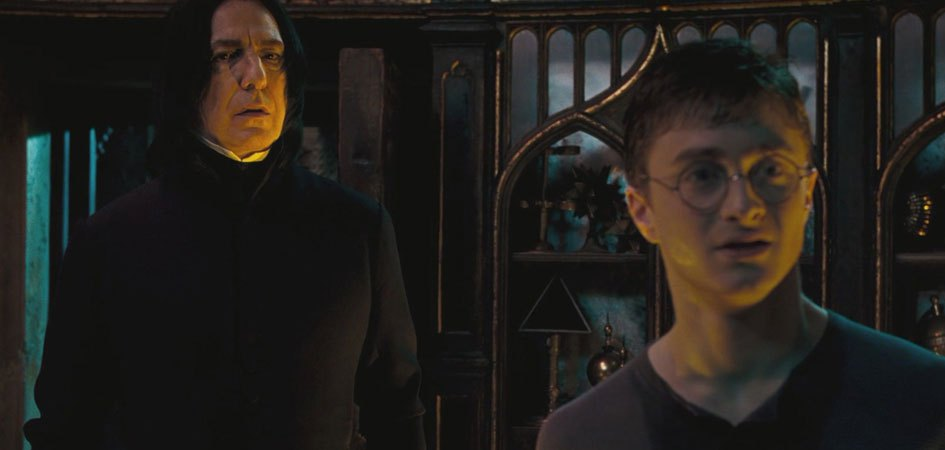 Professor Severus Snape und Harry Potter