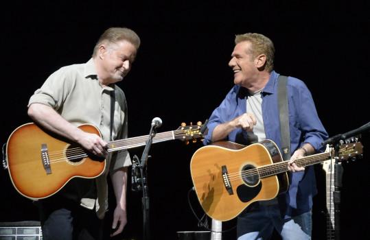 Don Henley (li.) und Glenn Frey 2013