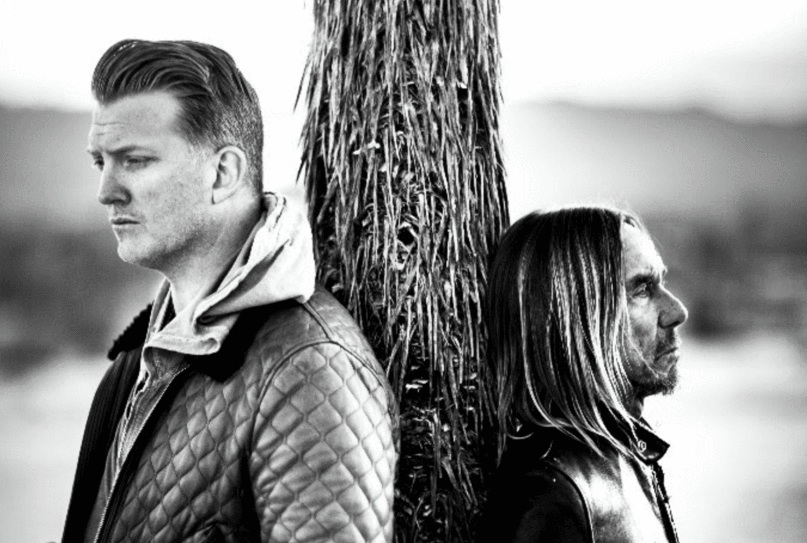 "2016 auf ""Post Pop Depression""-Tour: Josh Homme und Iggy Pop"