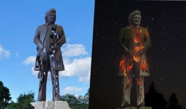 So soll die fertige Statue von Johnny Cash aussehen.