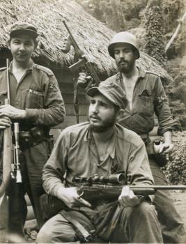 Fidel Castro, Santiago, Kuba, 1958.